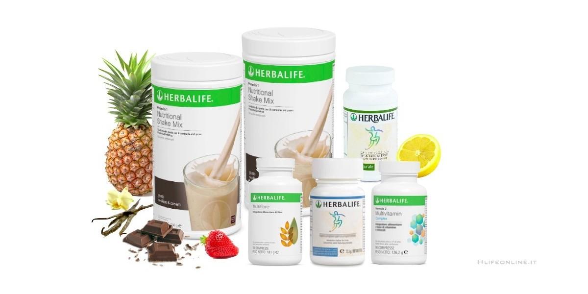 prodotti per la perdita di peso herbalife