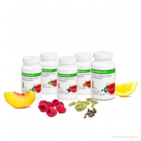 Thermojetics e infusi alle erbe Herbalife 50 gr.