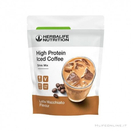 High Protein Iced Coffe Herbalife