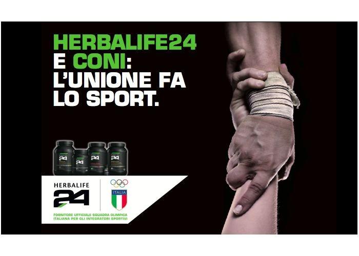 Herbalife24 e Coni: L'unione fa lo sport!