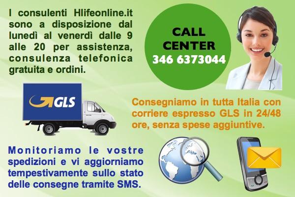 Chiamaci al 346 6373044 per ordini e consulenza gratuita!